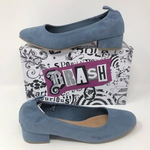 Brash Abby Scrunch Long Vamp Heel